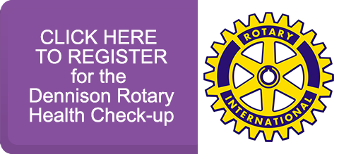Dennison Rotary Registration Button