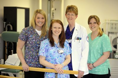 physical therapy and occupational therapy team at THTC