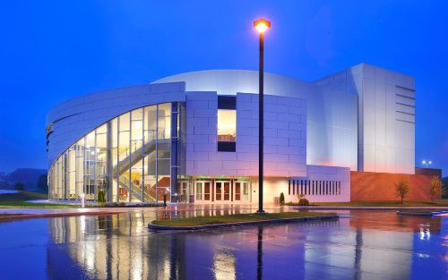 preforming arts center, kent state tuscarawas